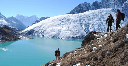 Trekking au lac de Gokyo col Cho la et camp base de l'everest